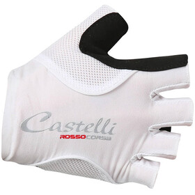 Castelli Rosso Corsa Pave Gloves Women white/black